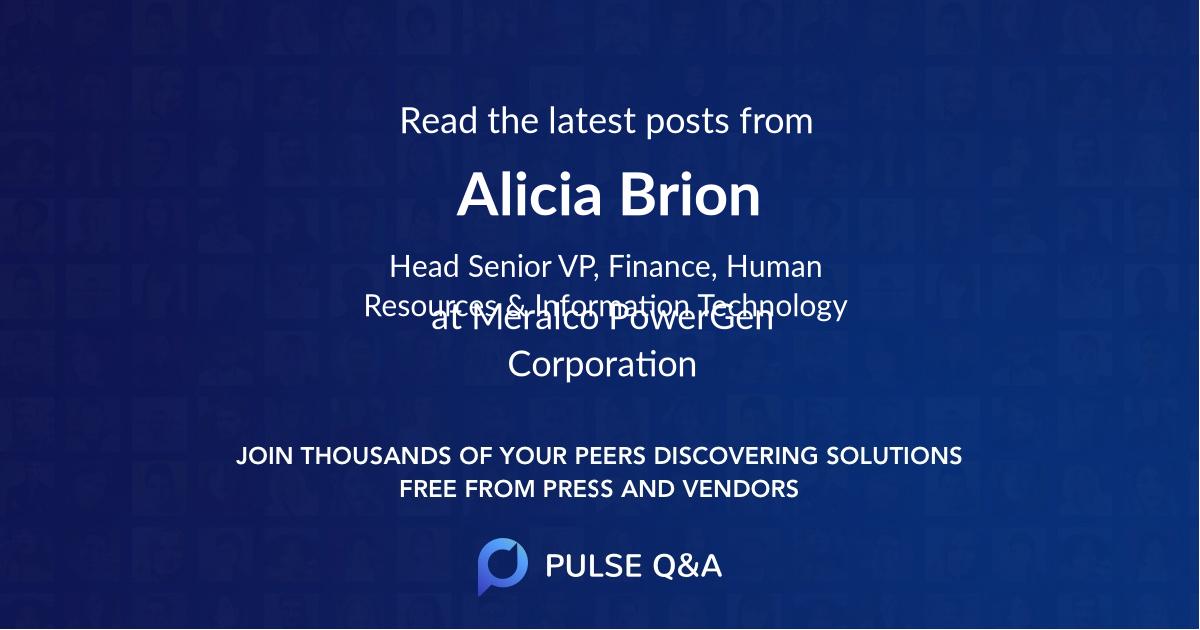 Alicia Brion