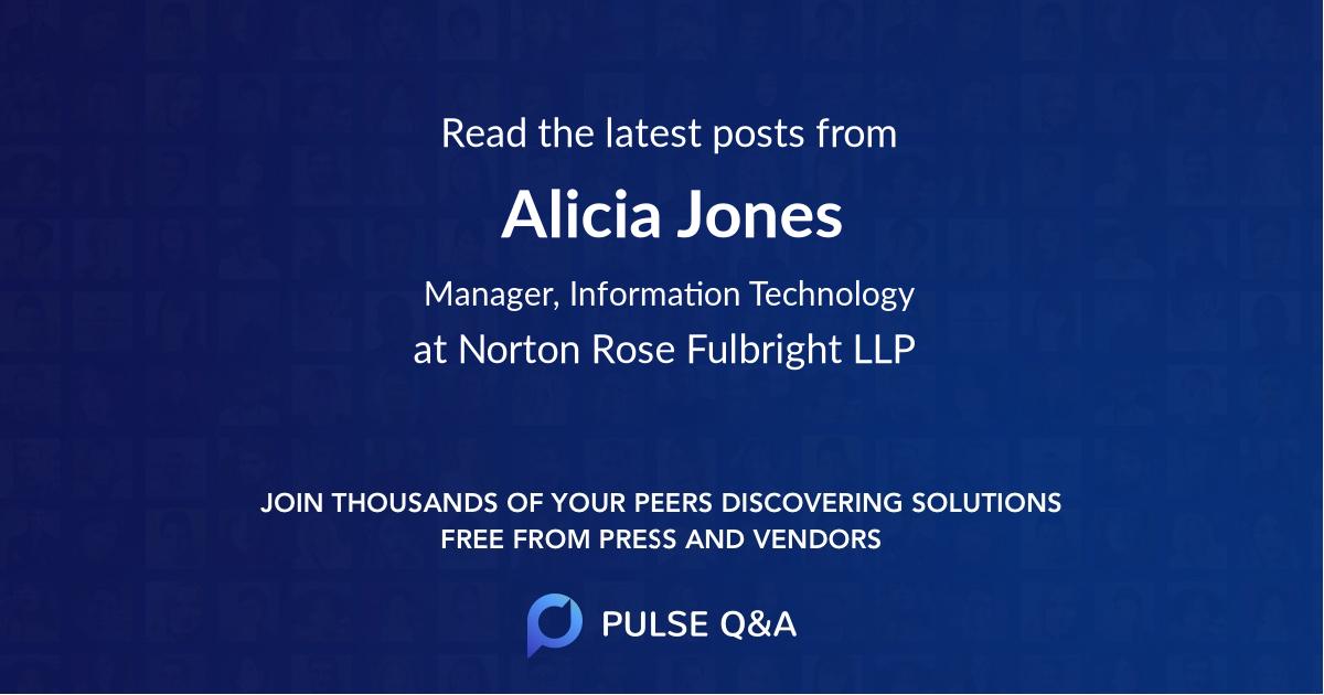 Alicia Jones
