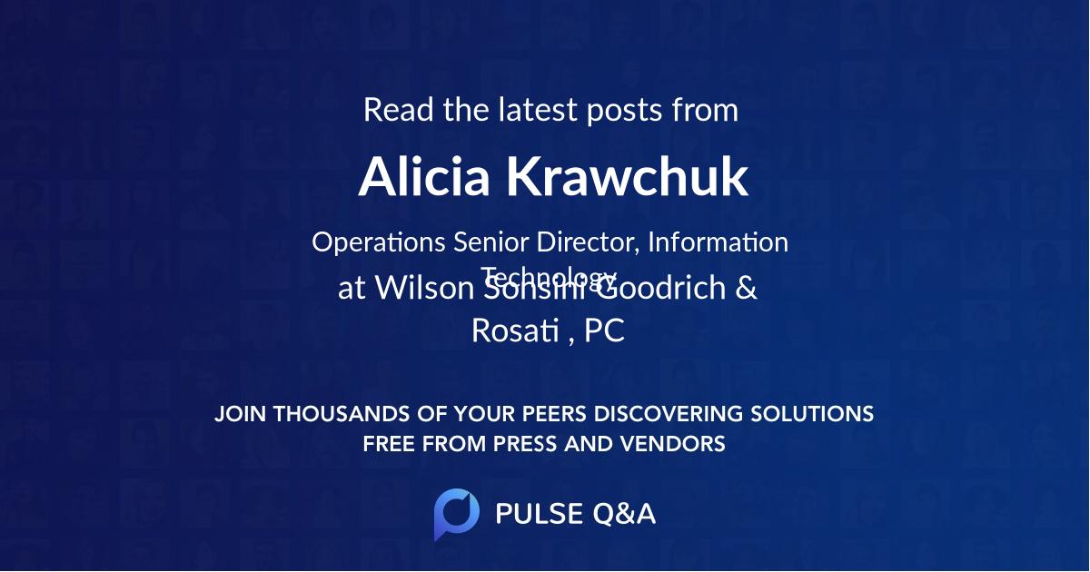 Alicia Krawchuk
