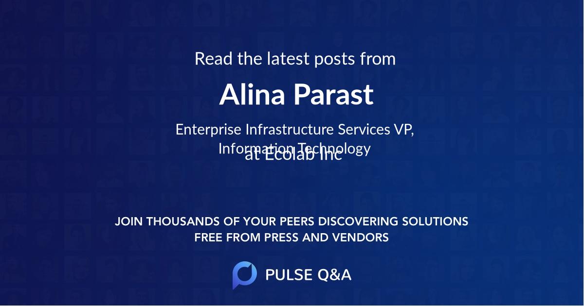 Alina Parast