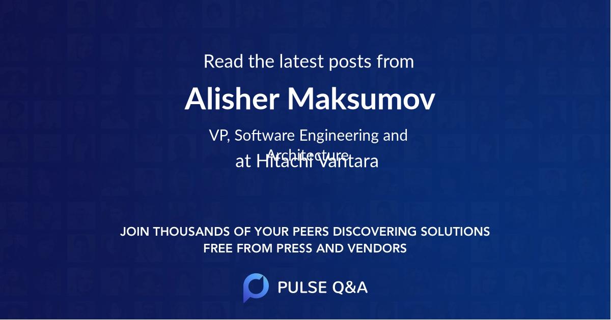 Alisher Maksumov