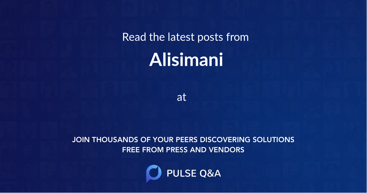 Alisimani