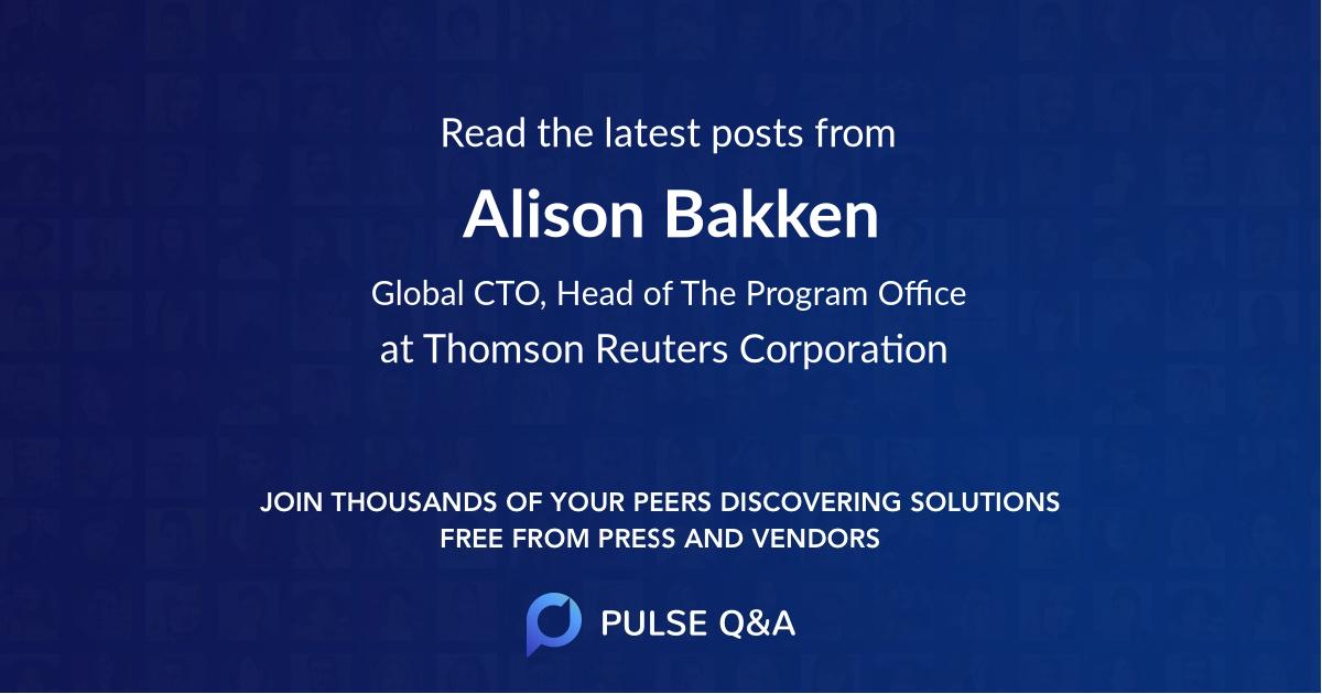 Alison Bakken