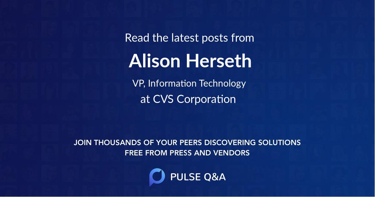 Alison Herseth