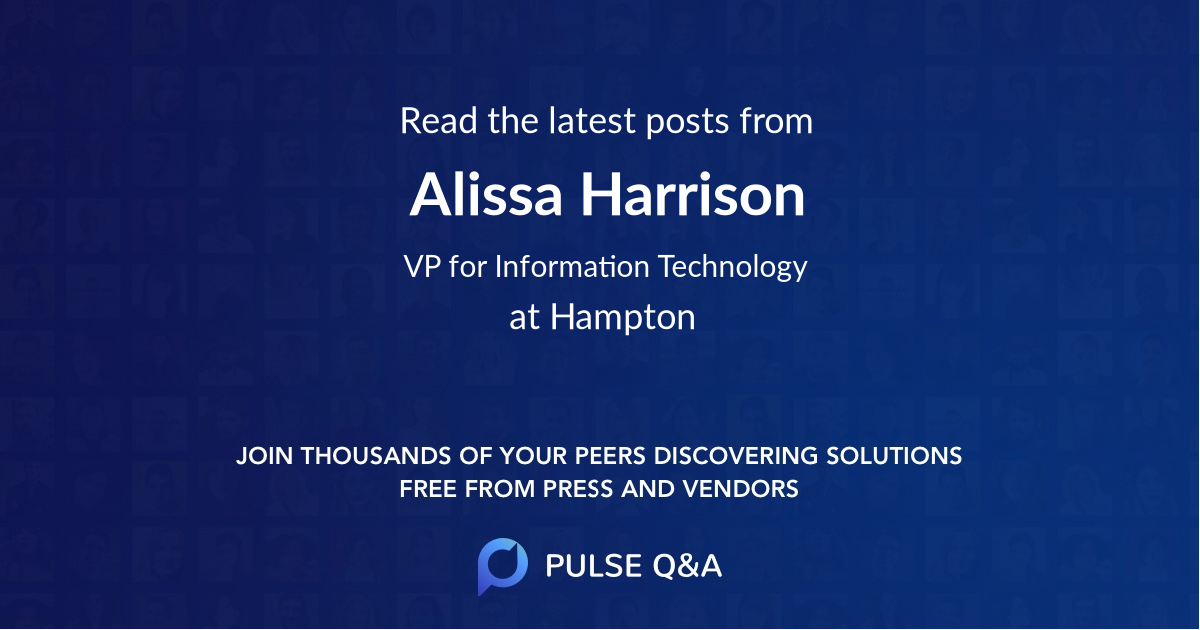 Alissa Harrison