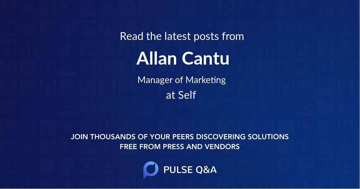 Allan Cantu