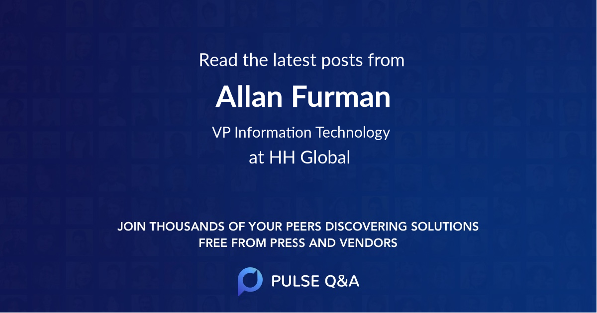 Allan Furman