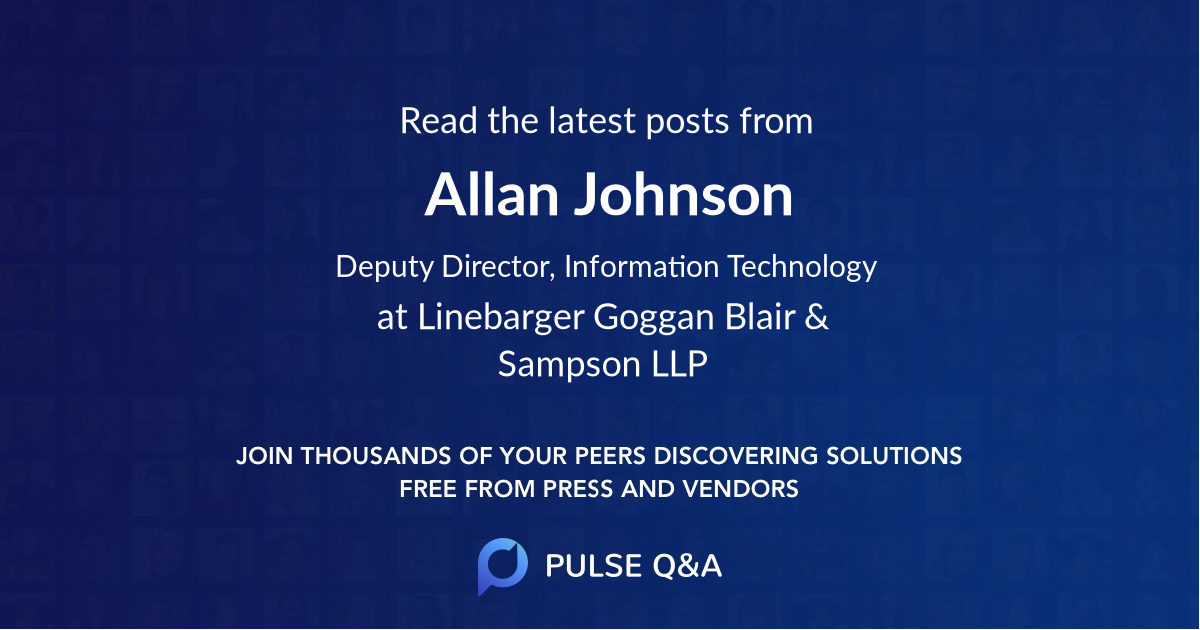 Allan Johnson