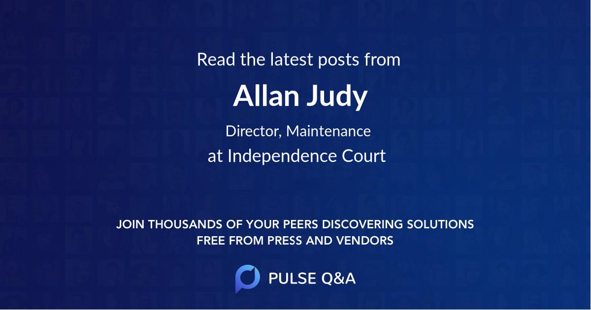 Allan Judy