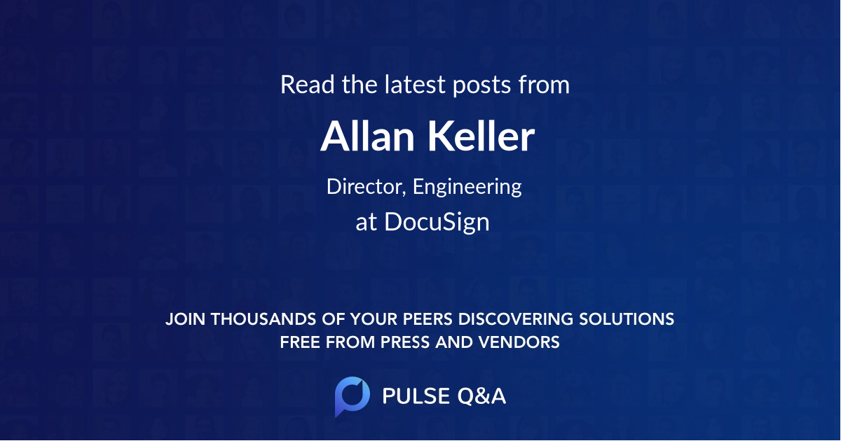 Allan Keller