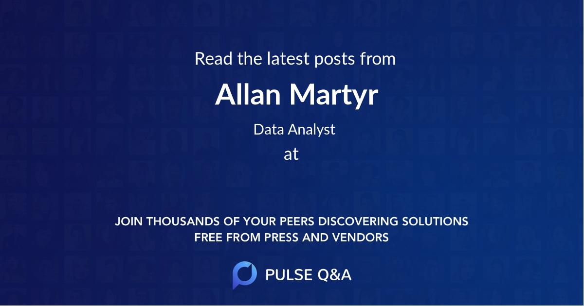 Allan Martyr
