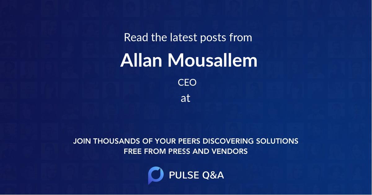 Allan Mousallem