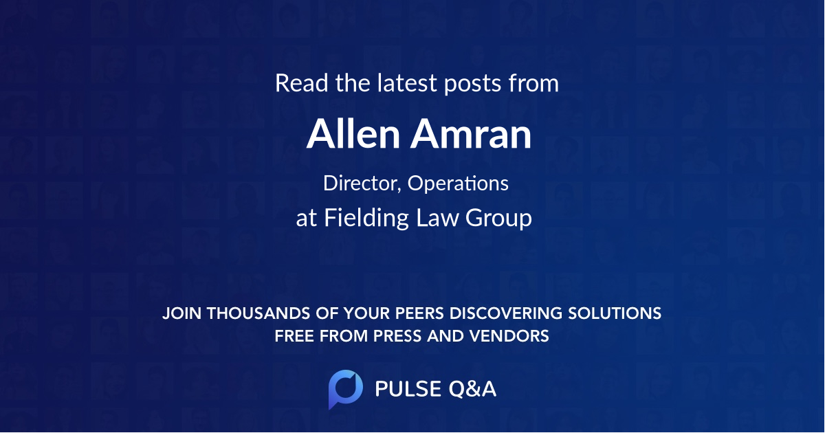 Allen Amran
