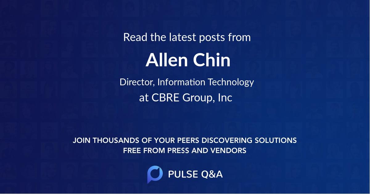 Allen Chin