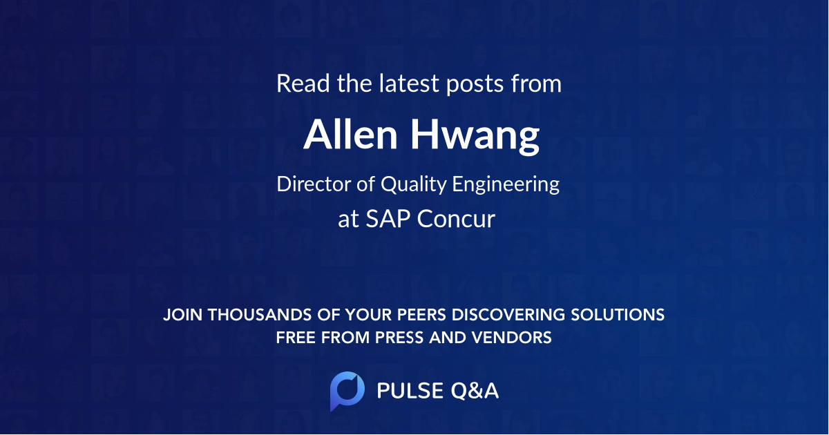 Allen Hwang