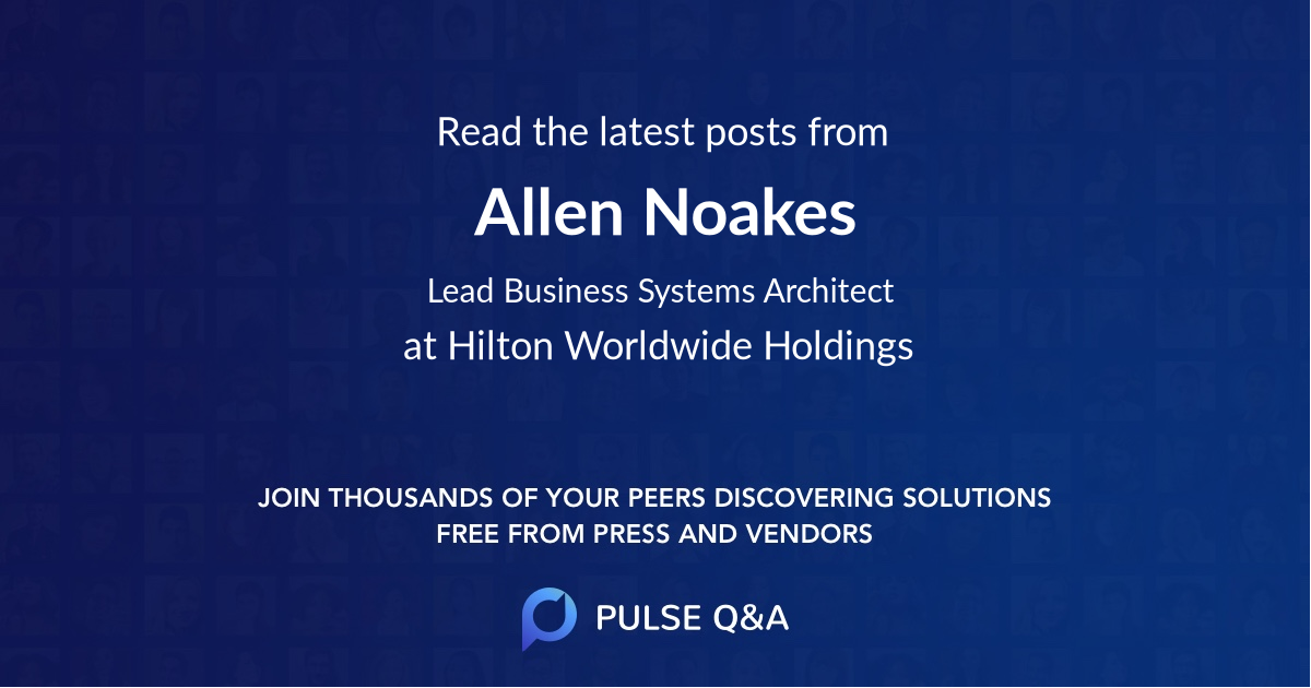 Allen Noakes