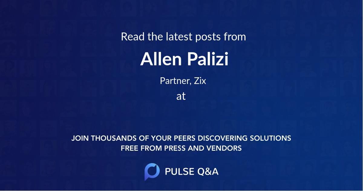 Allen Palizi