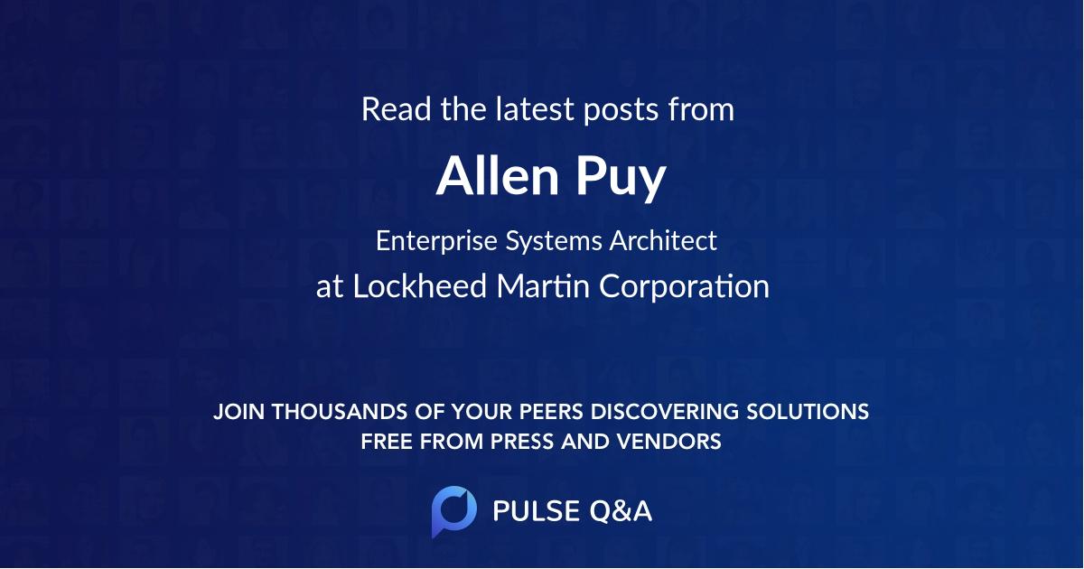 Allen Puy
