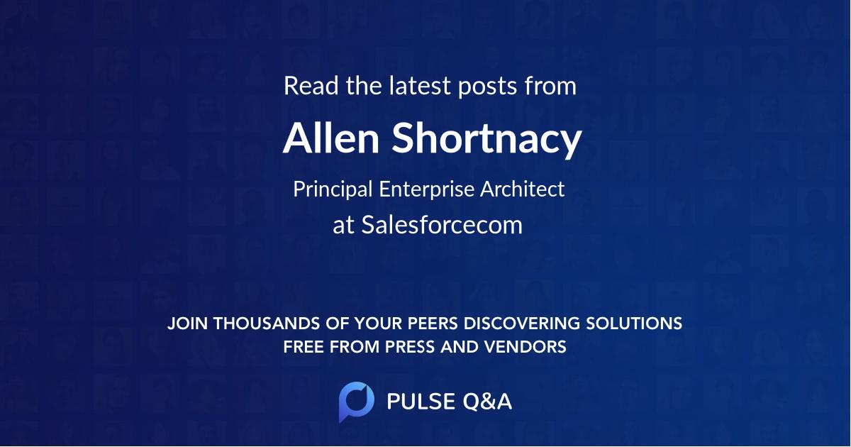 Allen Shortnacy