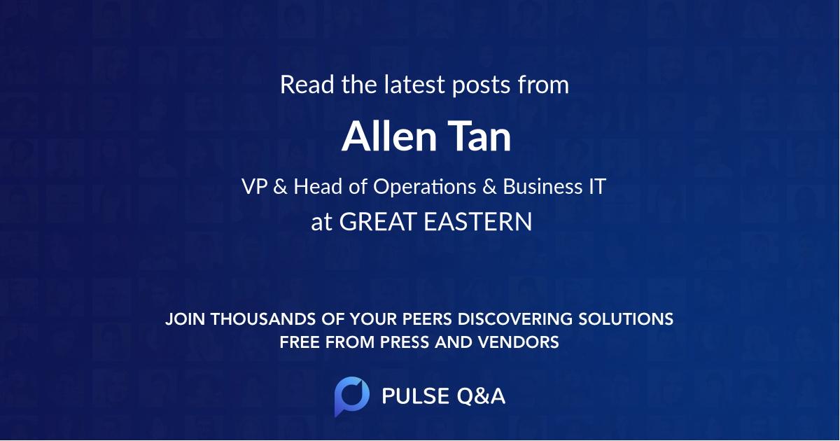 Allen Tan