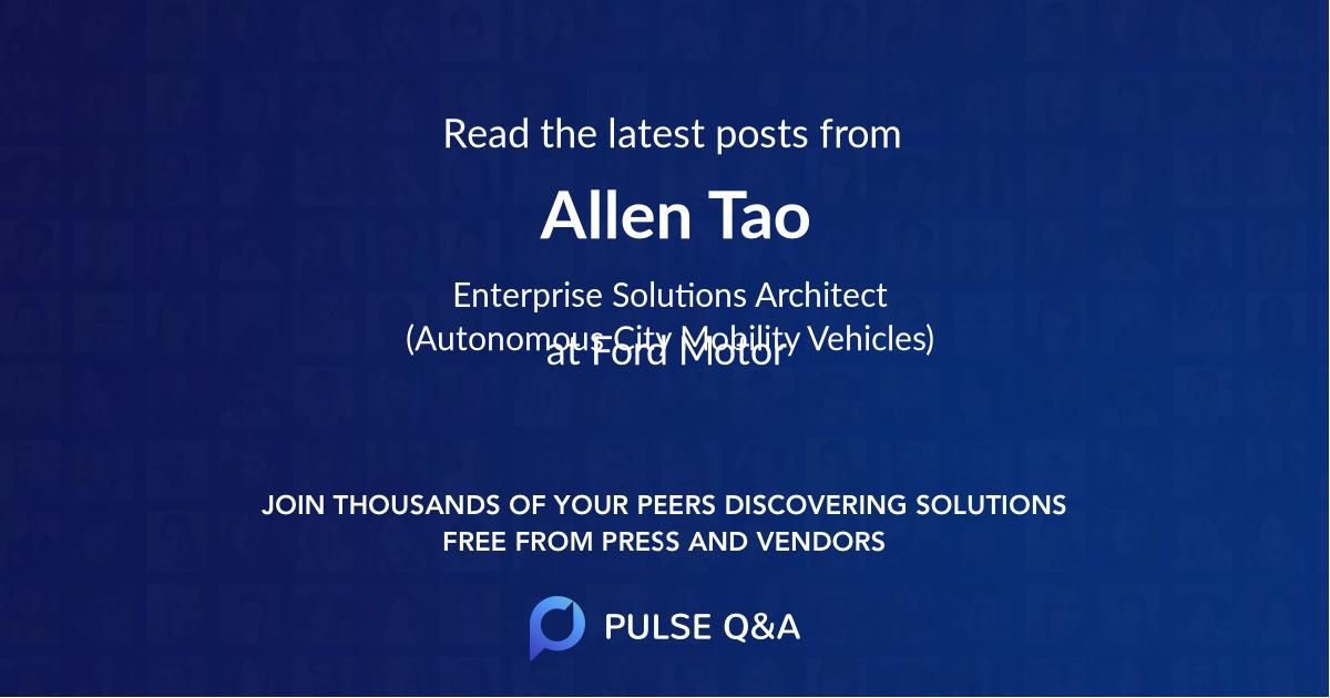 Allen Tao