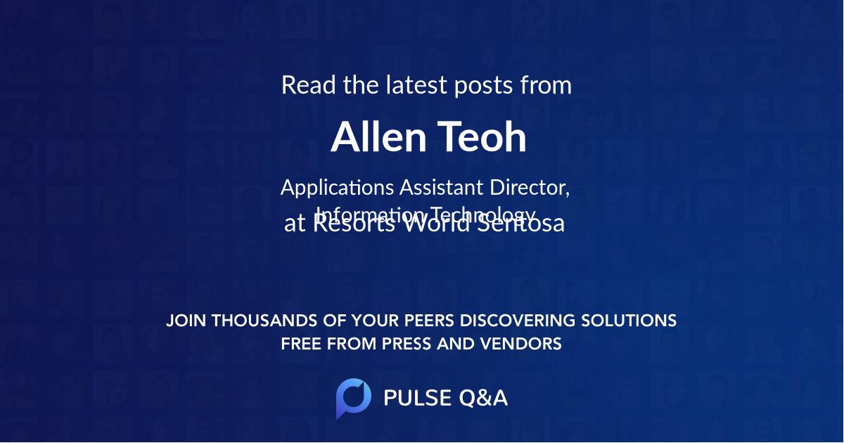 Allen Teoh