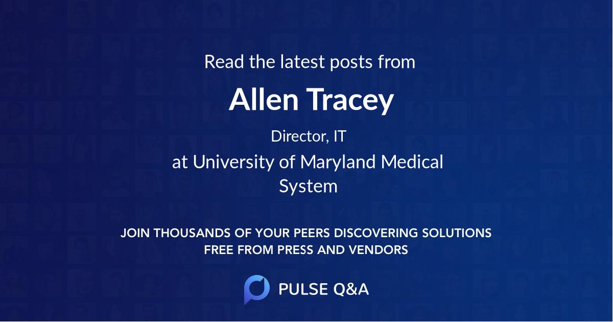 Allen Tracey