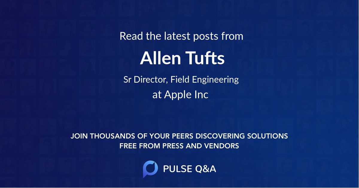 Allen Tufts