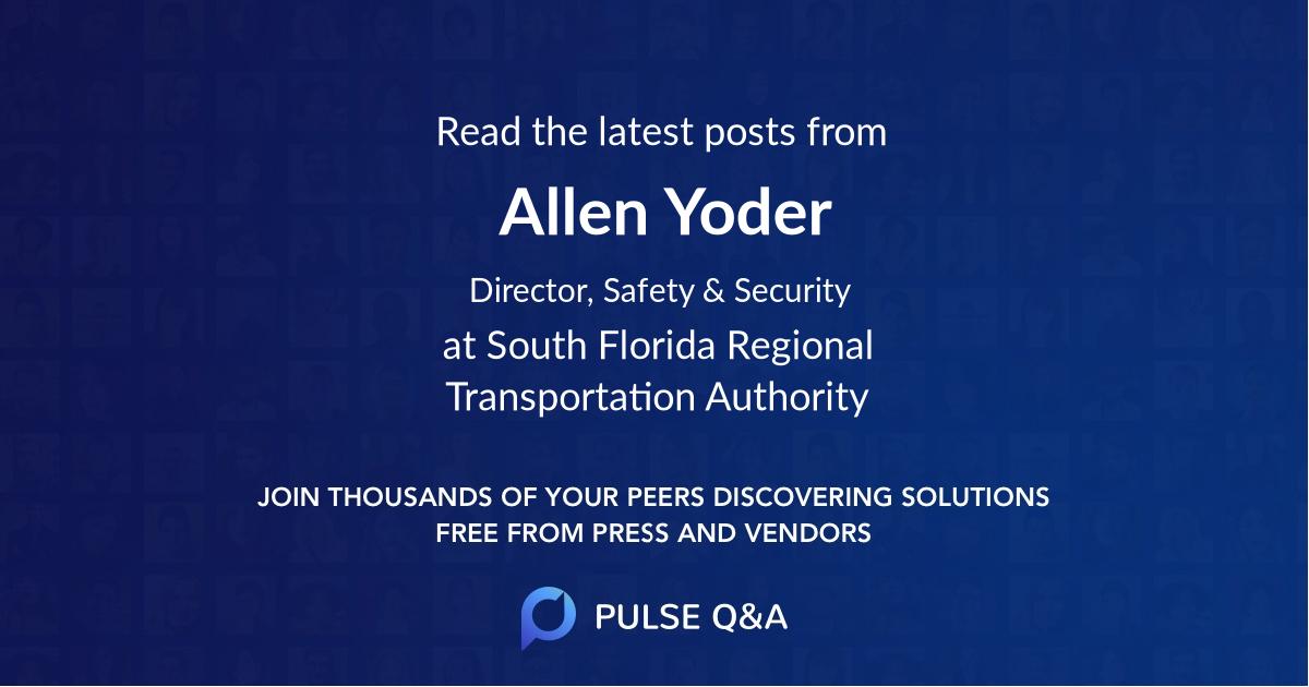 Allen Yoder