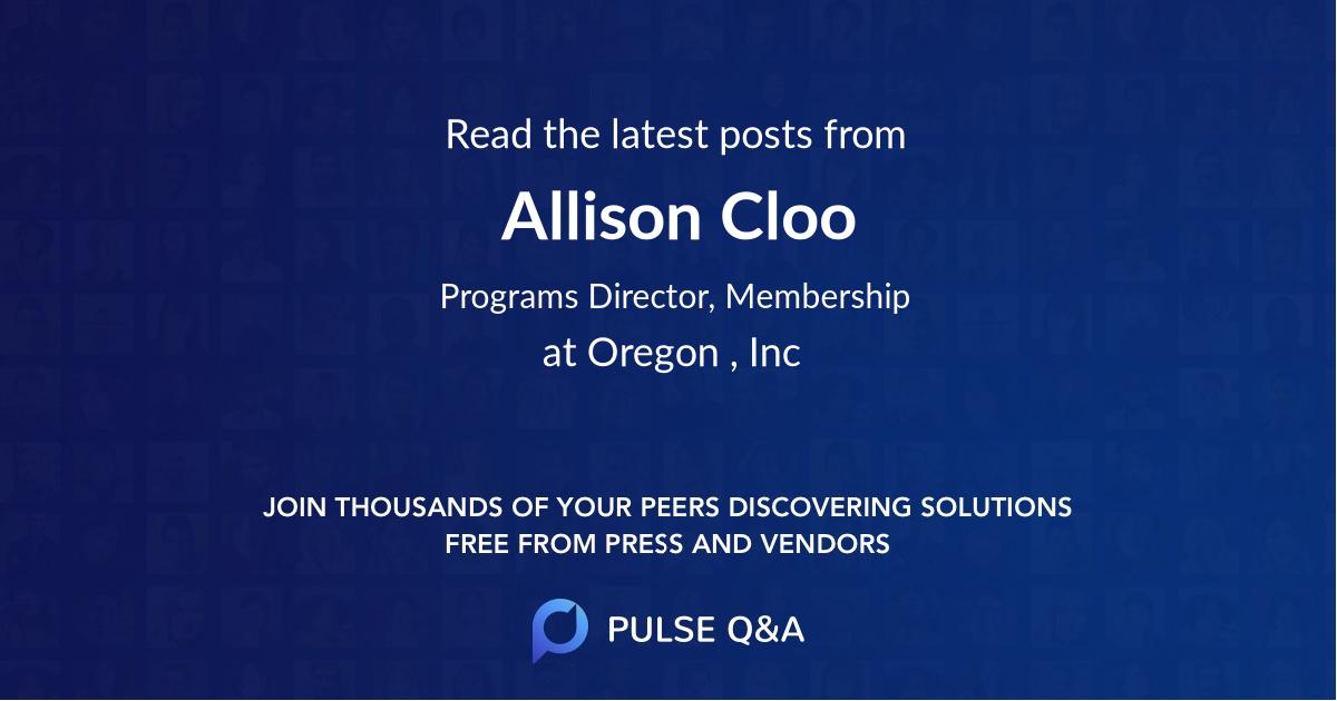 Allison Cloo