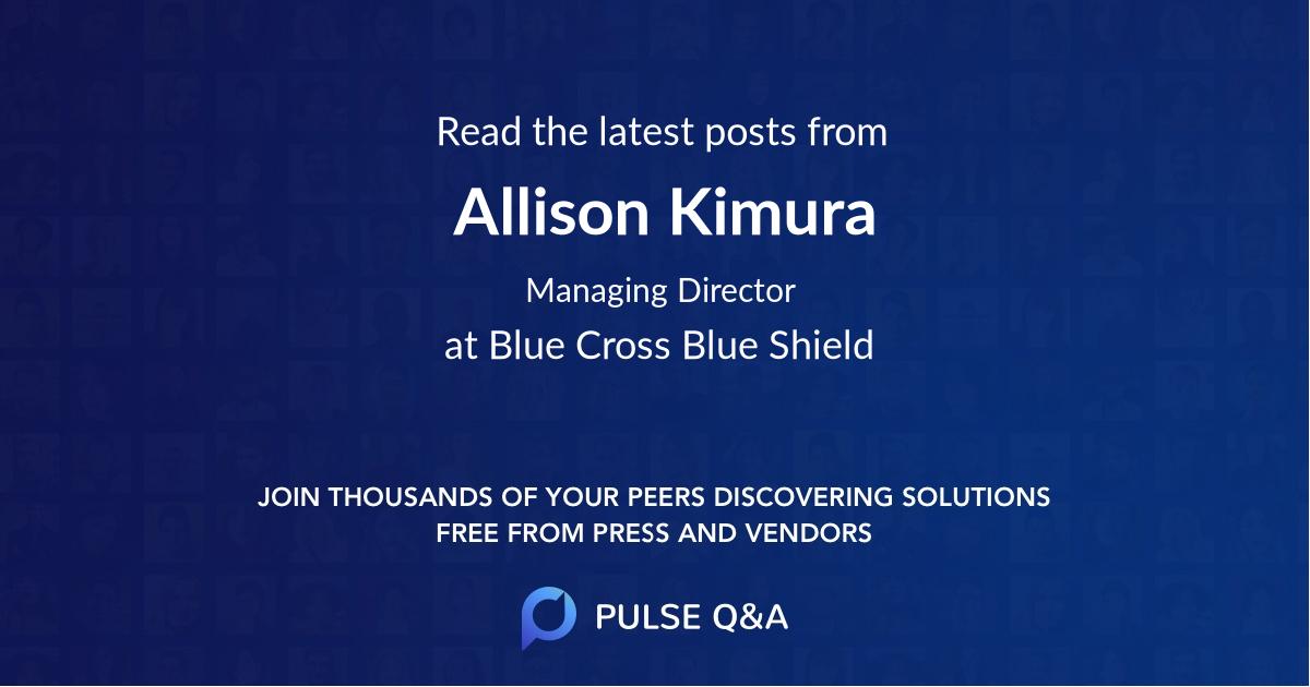 Allison Kimura