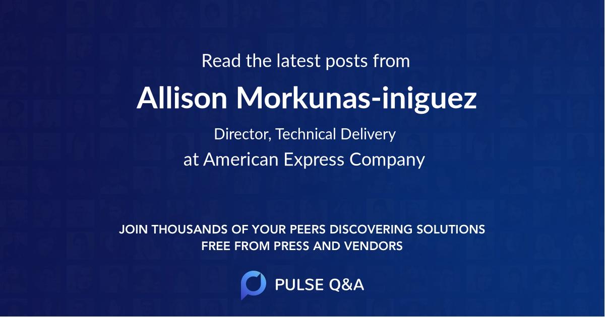 Allison Morkunas-iniguez