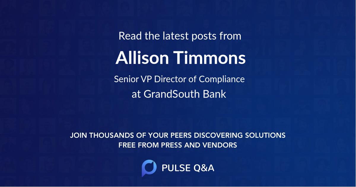 Allison Timmons