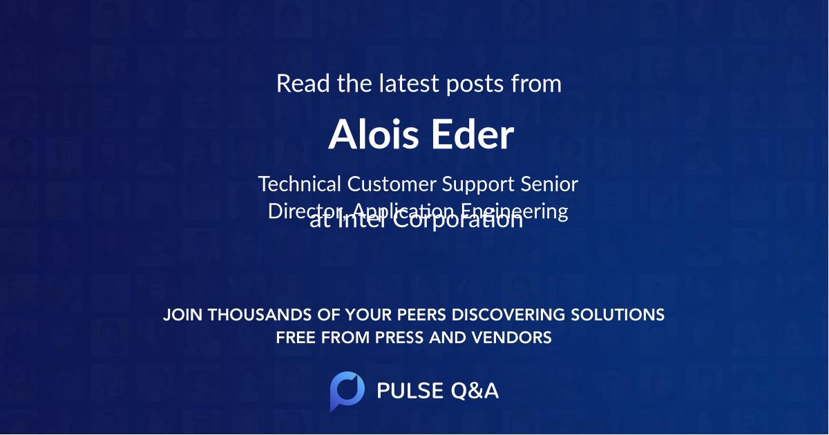 Alois Eder