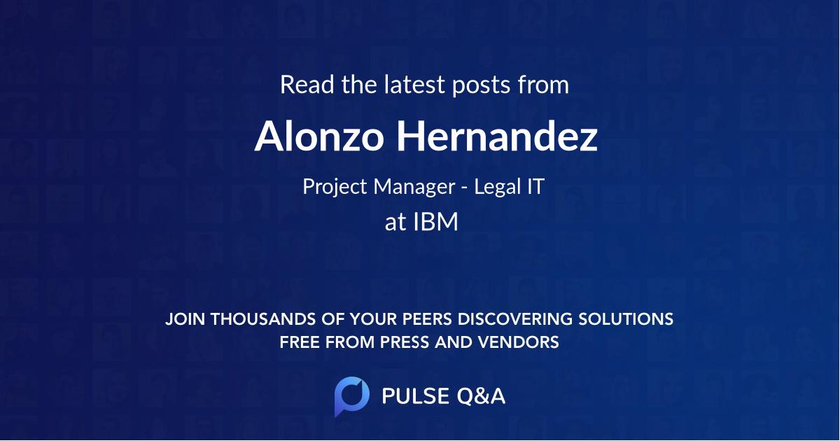 Alonzo Hernandez