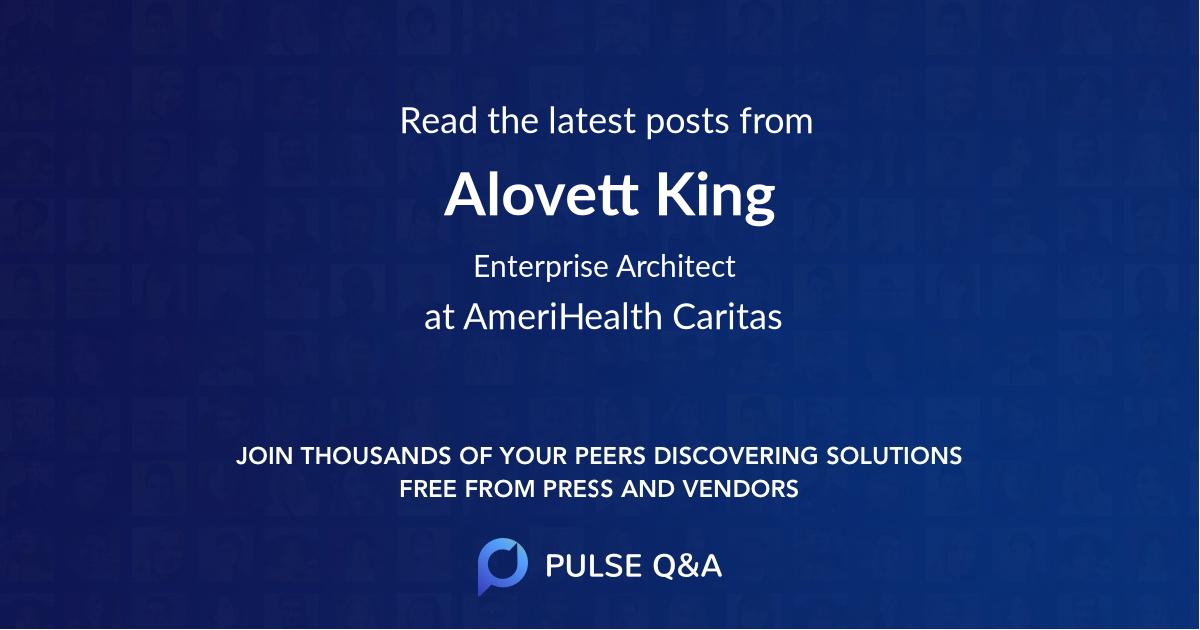 Alovett King