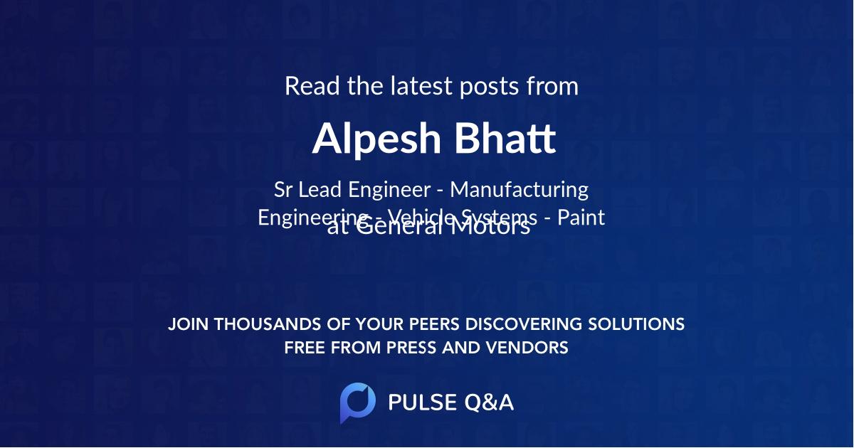Alpesh Bhatt