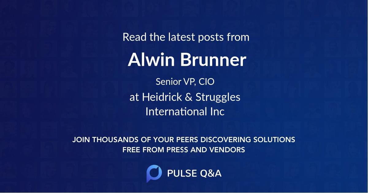 Alwin Brunner