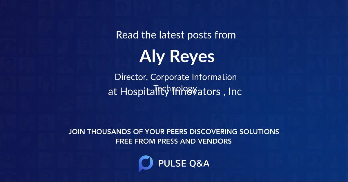 Aly Reyes