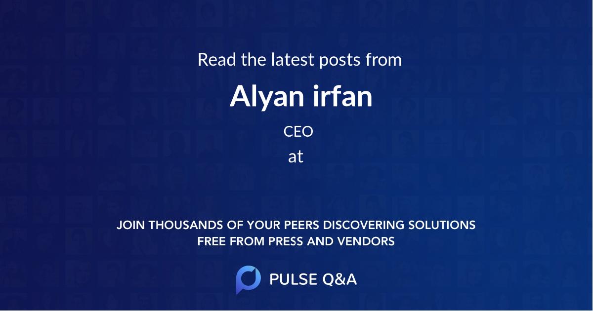 Alyan irfan
