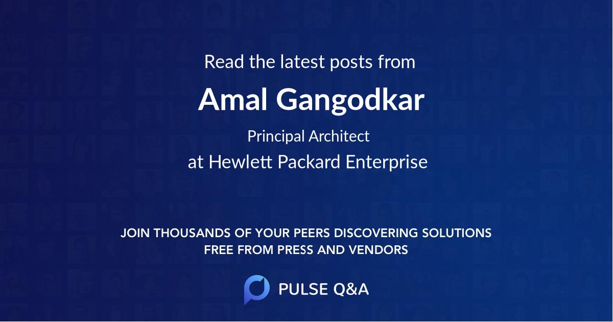 Amal Gangodkar