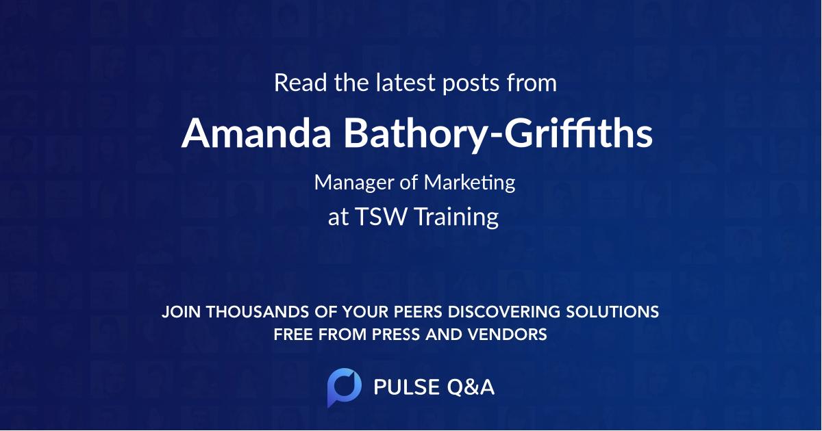 Amanda Bathory-Griffiths