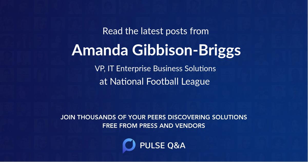 Amanda Gibbison-Briggs
