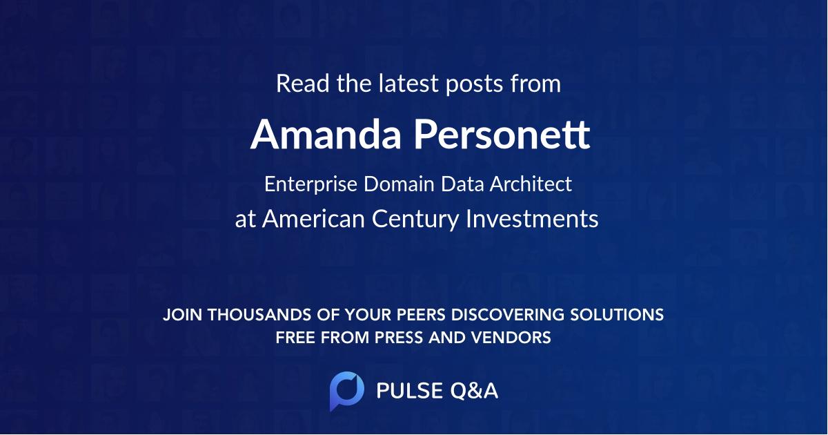Amanda Personett