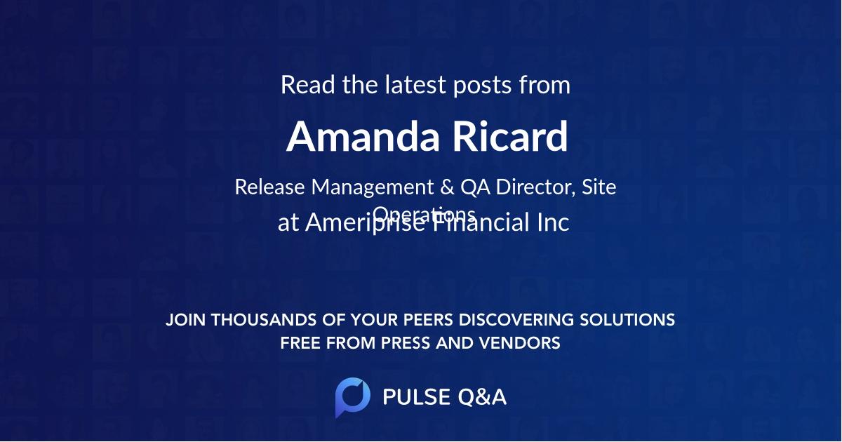Amanda Ricard