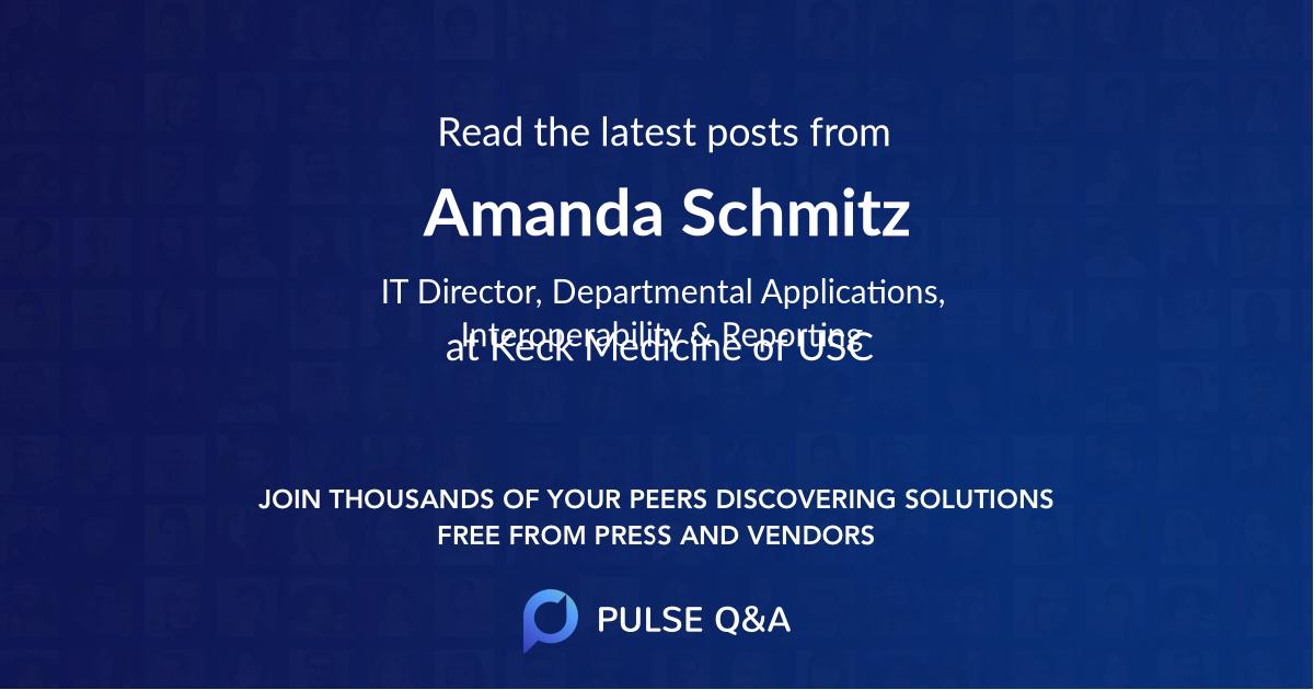 Amanda Schmitz