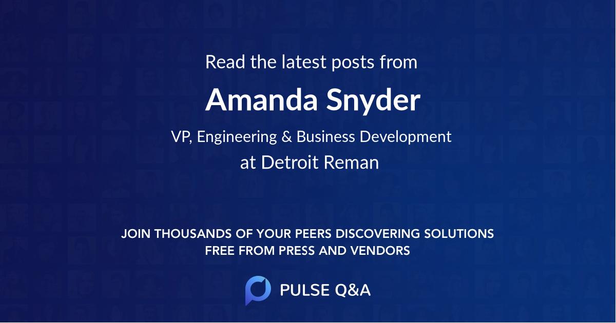 Amanda Snyder