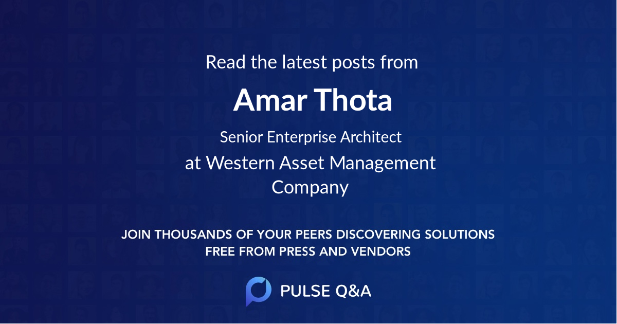 Amar Thota