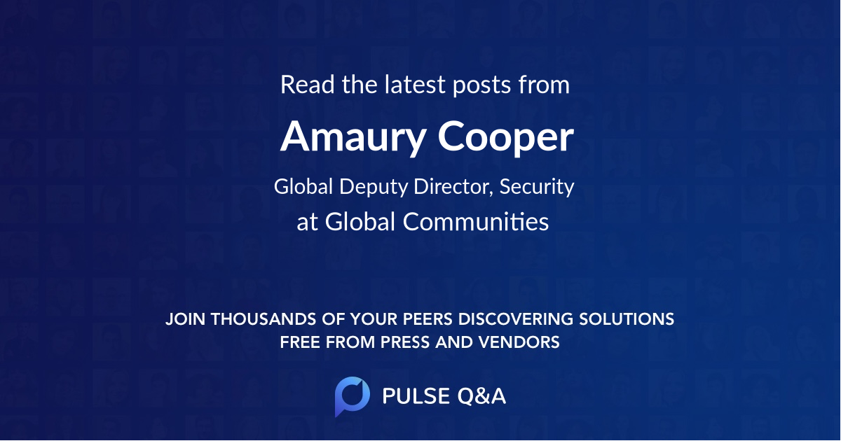 Amaury Cooper