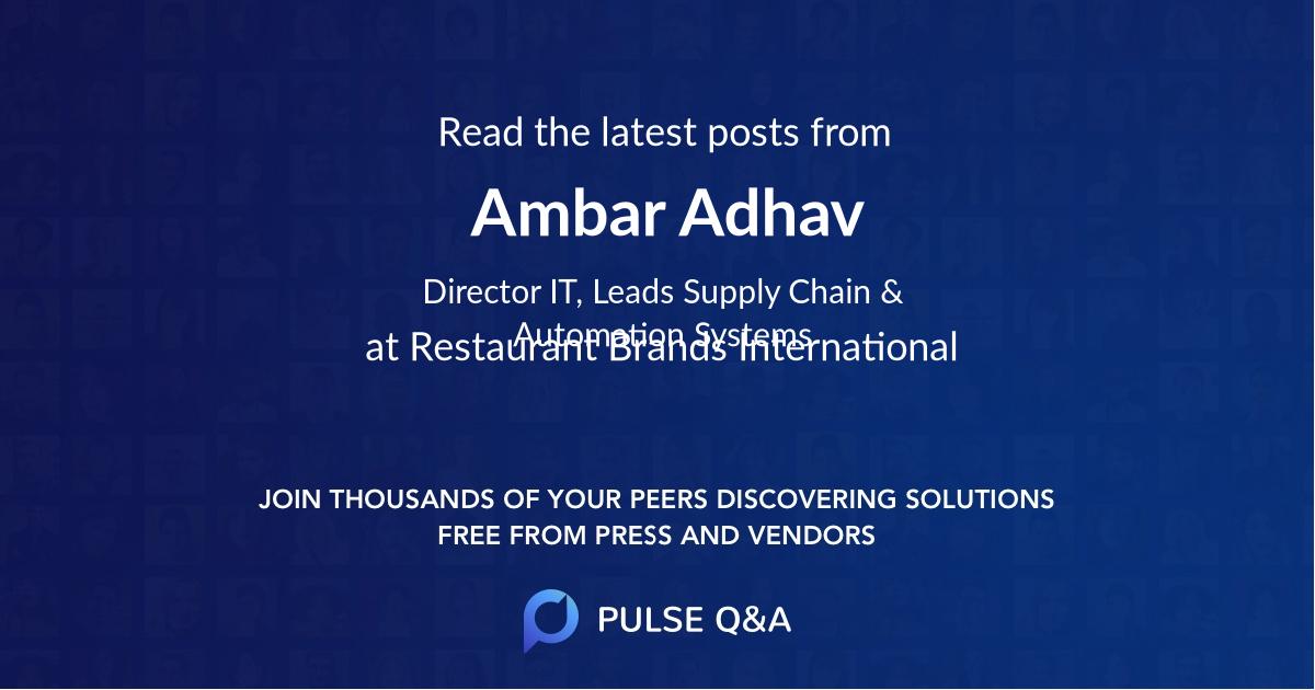 Ambar Adhav